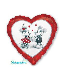 Mickey Minnie Love 45cm