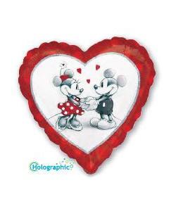 Mickey Minnie Love 45cm