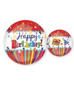 Orbz Happy Birthday 38x40cm