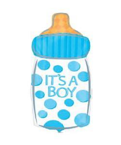 It's a Boy Baby Bottle 25x58cm