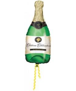 Foil Bottiglia Champagne 91 cm