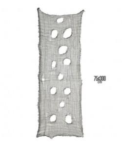 Tessuto Decorativo Horror Nero 75 x 300 cm