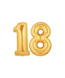 Foil Oro numero 18 h 100 cm