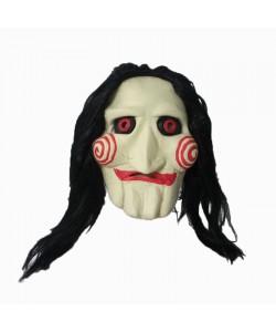 Maschera Saw con capelli