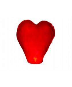 Lanterna Volante Cuore Rossa