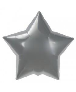 Pallone foil Stella Argento 55 cm 1 pz