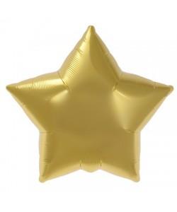 Pallone foil Stella Oro 55 cm 1 pz