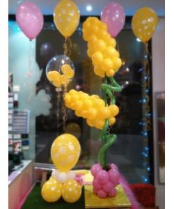 Composizione Palloncini Festa della Donna