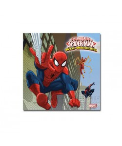 Tovagliolo Ultimate Spiderman Web Warriors 20 pz 33 x 33 cm
