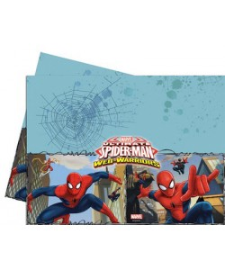 Tovaglia plastica Ultimate Spiderman Web Warriors 1 pz 120 x 180 cm