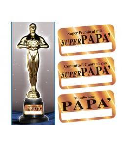 Trofeo Papà h 29 cm