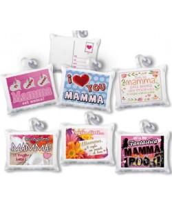 Mini Cuscino Cartolina Mamma
