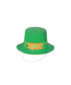 Mini Cappello Plastica (Stampa Trifoglio)