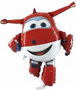 Pallone Foil supershape Superwings Jet
