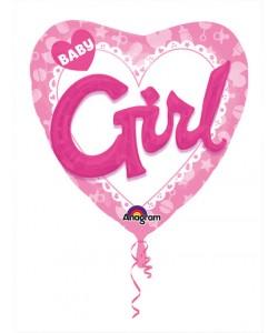Pallone foil Multi-Balloon  91 cm Celebrate Baby Girl 1 pz
