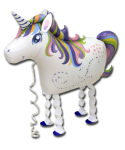 Pallone Walking Unicorno 63 cm