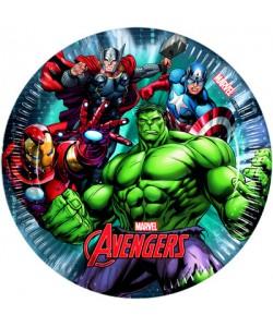 Piatto Avengers Power 20 cm