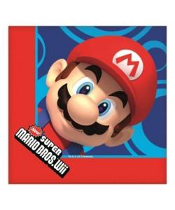 Tovaglioli Super Mario 33x33 cm 16pz