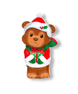 Christmas Bear Junior Shape (43 x 73 cm)