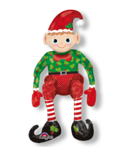 Sitting Elf Multi Balloon 43 x 73 cm