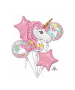 Foil Balloon Bouquet Magical Unicorn