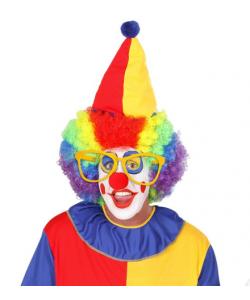 Occhiali Clown Giganti (Gialli)
