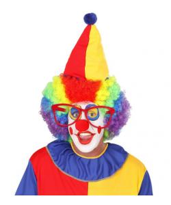Occhiali Clown Giganti (rossi)