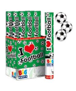 Tubo Sparacoriandoli 30 cm Pallone Calcio