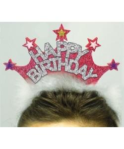Cerchietto Glitter Happy Birthday