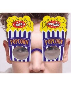 Occhiali Buon Compleanno Pop Corn