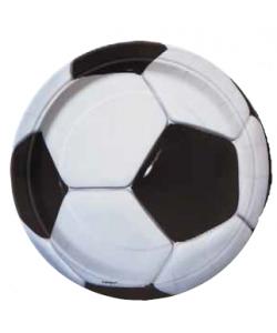 Piatto Calcio 17 cm 8 pz