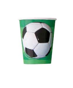 Bicchiere Calcio 270 ml 8 pz