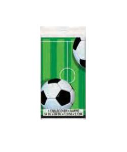 Tovaglia Calcio in plastica 1.37 mt x 2.13 mt 1 pz