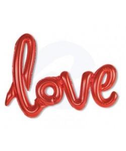SCRITTA LOVE GONFIABILE IN FOIL cm 108 x 64