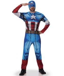 Costume Captain America Adulto