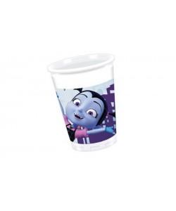 Bicchiere plastica 200 ml Vampirina 8 pz
