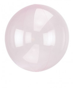 Pallone Clearz Crystal Rosa 1 pz