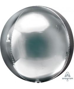 Pallone foil ORBZ 38 x 40 cm Argento 1 pz