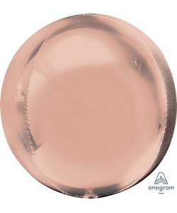 Pallone foil ORBZ 38 x 40 cm Rose Gold 1 pz