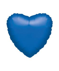 Pallone foil Cuore Blu 42 cm 1 pz