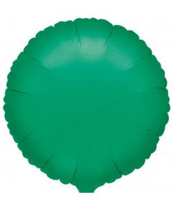 Pallone foil Tondo Verde 42 cm 1 pz