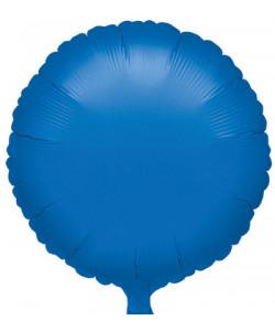 Pallone foil Tondo Blu 42 cm 1 pz