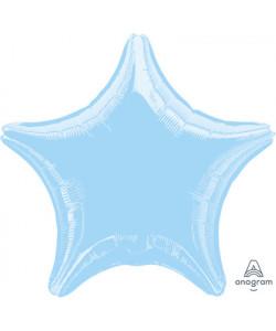 Pallone foil Stella Azzurra 1 pz  42 cm