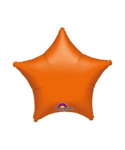 Pallone foil Stella Arancione 1 pz  42 cm
