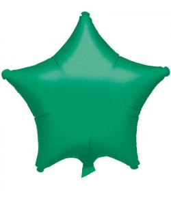 Pallone foil Stella Verde 1 pz  42 cm