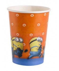 Bicchiere Minions 8pz 266 ml