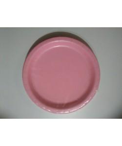Piatto carta Lovely Pink 16 pz 22cm