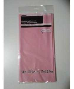 Tovaglia Plastica Lovely Pink 1 pz 137 x 274 cm