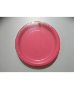 Piatto carta Hot Pink 16 pz 22cm