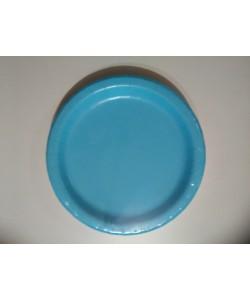 Piatto carta Powder Blue 16 pz 22cm